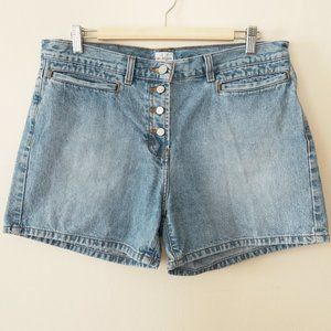 Calvin Klein Jeans Button Fly Jean Shorts